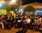 Apresentação da Corporação Musical José Ferreira Gomes em comemoração ao Dia da 3ª Idade