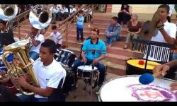Corporação Musical no Encontro de Bandas em Guaraciaba 2017
