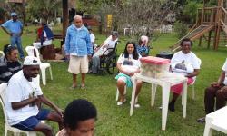 Passeio com Internos da Casa Lar na Fazenda Palmeiras em Rio Casca