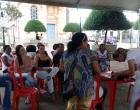 Semana Municipal do Idoso - Aferição de pressão arterial + glicemia, capoterapia e apresentação de teatro da Companhia de teatro de Sto Antônio do Grama.